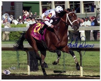 Kent Desormeaux Signed Autographed Kentucky Derby Big Brown 8x10 HOF