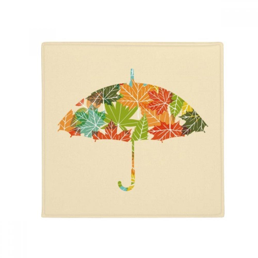 DIYthinker Leaves Umbrella Drip Weather Rain Anti-Slip Floor Pet Mat Square Home Kitchen Door 80Cm Gift
