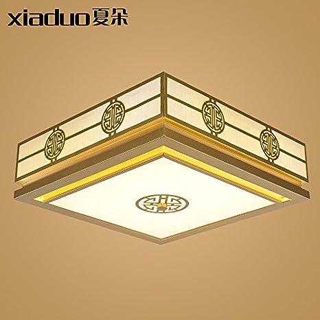 BRIGHTLLT Luz de techo nuevo chino salón con habitaciones ...