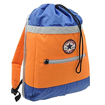 45b62bd8a4 Converse Drawstring Backpack - Orange  Amazon.co.uk  Luggage