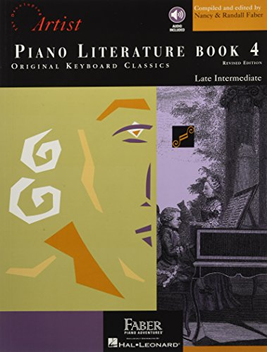 Piano Literature - Book 4: Developing Artist Original Keyboard Classics (The Developing Artist)
