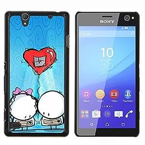 For Sony Xperia C4 Case , gazeta fon rakushki galka- Diseño Patrón Teléfono Caso Cubierta Case Bumper Duro Protección Case Cover Funda