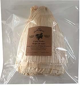 El Molcajete Brand Corn Husks Hojas de Maiz Tamale Wrappers 1 Pound