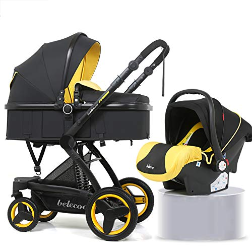 Travel Stroller Buggy Baby Child Pushchair High Landscape Portable Baby Carriages Folding Prams for Newborns,b