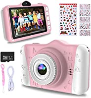 WOWGO Kids Digital Camera - 12MP Children's Camera with Large Screen for Boys and Girls, 1080P Rechargeabl