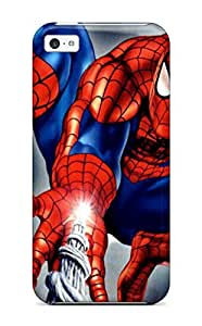 Larry B. Hornback's Shop Best 4827837K36382799 Iphone 5c Cover Case - Eco-friendly Packaging(spider-man)