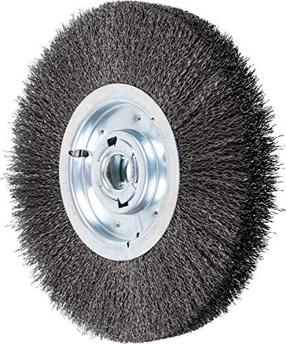 3000 Maximum RPM 12 Diameter 2 Arbor Hole 2-7//8 Trim Length 2-1//4 Face Width PFERD Inc. 2-7//8 Trim Length 2-1//4 Face Width PFERD 81259 Wide Face Crimped Wheel Brush Carbon Steel Wire 12 Diameter 2 Arbor Hole 0.020 Wire Size