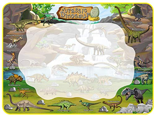 Dinosaur Water Doodle Drawing Mat for Kids and Toddlers - Large 39