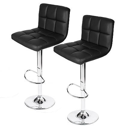 Cool Amazon Com Adi 4489Bk Contemporary Air Lift Swivel Black Theyellowbook Wood Chair Design Ideas Theyellowbookinfo