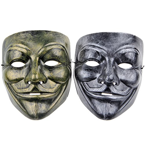 2pcs  (Guys Masquerade Mask)