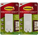 #7: Command 3M 12ct Pack Picture & Frame Hanging Strips Sets Large Size White Damage-Free