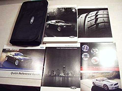 amazon com 2014 ford mustang owners manual ford books rh amazon com 2014 ford mustang convertible owners manual