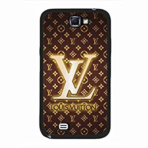 Louis And Vuitton Phone Accesory,Luxurious Brand LV Logo Phone Funda Cover,Samsung Galaxy Note 2 Cover Funda