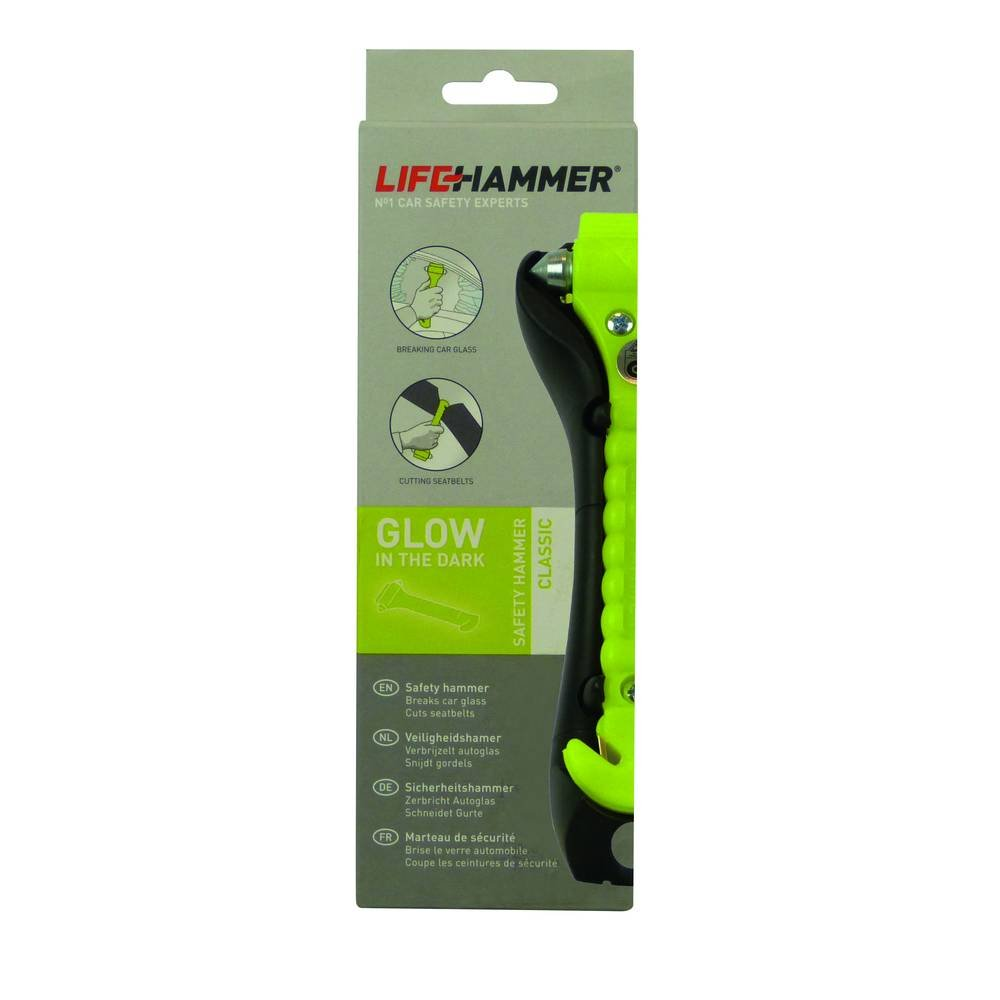 Lifehammer10720096  CLASSIC Glow Nothammer Gelb