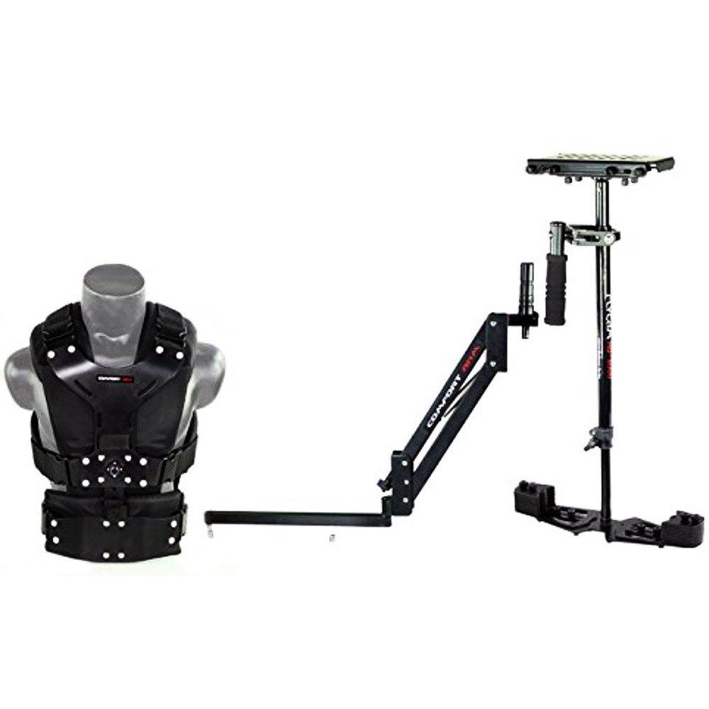 Flycam HD - 3000カメラステディカムスタビライザーシステムwith快適アームとベストfor DSLRビデオビデオカメラUp To 3.5 KG/7.7lb | Free Unicoクイックリリース&テーブルクランプ+携帯バッグ(cmft-hd3 )   B06XDL7F5D