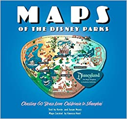 Maps Of The Disney Parks Charting Years From California To - Amazon maps
