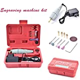 17PCS Multi Tool Kit,Mini Electric Drill Handy Grinder for Engraving Grinding Sharpening Cutting DIY Power Tools Kit with AC/DC adapter/15pcs Accessories