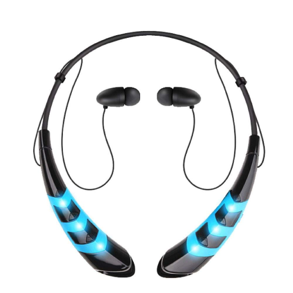 Amazon.com: Jarv Wave LED Wireless Magnetic in-Ear Bluetooth Neckband Earbuds Sport Running Workout Bluetooth Headset with Mic/Volume Control & Siri/Google ...
