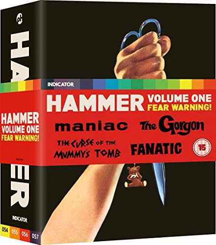 Hammer: Volume One: Fear Warning! [Blu-ray] (Hammer Horror Blu Ray Collection)
