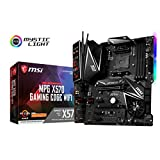 MSI Performance Gaming AMD Ryzen 2ND & 3rd Gen X570 AM4 DDR4 HDMI PCIe 4 M.2 USB 3.1 CFX WiFi 6 On Board Graphics ATX Motherboard (MPG X570 Gaming Edge WiFi)