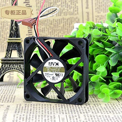FOR AVC F7015B12MY 701512V 0.2A Double Ball Three-wire Cooling Fan