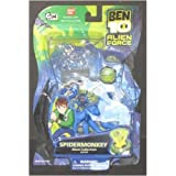Ben 10 SPIDERMONKEY Alien Force Collection ben10