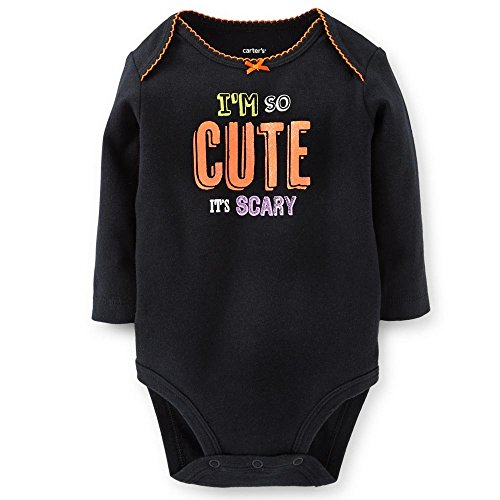 Unisex Baby First Haloween Wear (3M, Scary Cute) ()