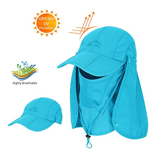 Frog Baseball Hat - Men Women Summer Hat Sun Protection Waterproof Baseball Cap (Blue)
