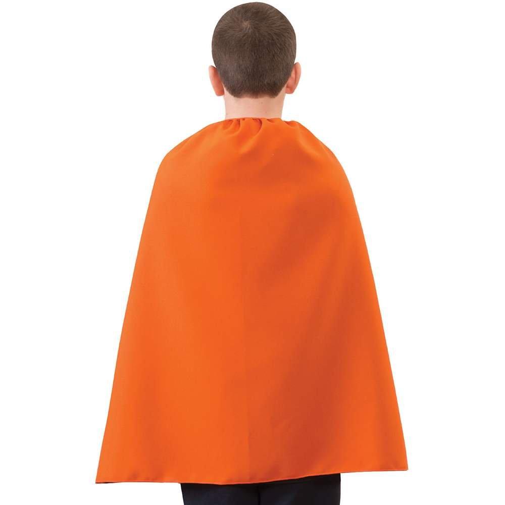 Childs Superhero Super Hero 28 Cape Cloak Robe Dress Up Costume Accessory