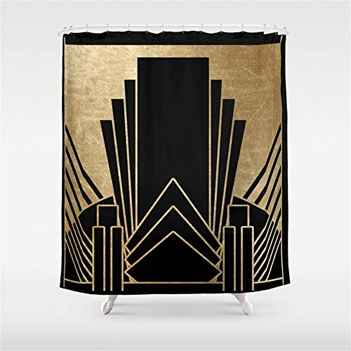 Art Deco Bed - Huisfa Art Deco Design Shower Curtain 72 x 72 inches