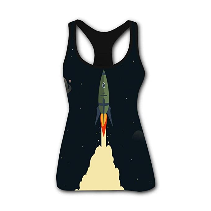 Rocket Lift Stretch Casual Tank Tops for Activewear Workout ...