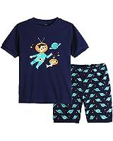 MyFav Big Boys Pajamas 2 Piece Short PJS Cute...