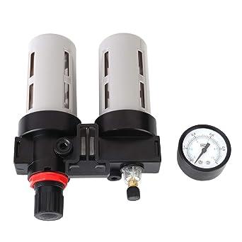 Regulador del filtro de aire, PT1 / 2 Compresor de presión de aire Filtro de