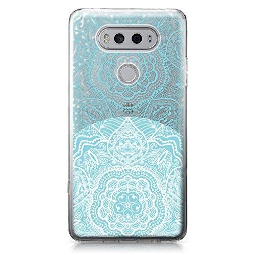 CASEiLIKE Funda Nexus 5X , Carcasa LG Google Nexus 5X, flor japonesa 2255, TPU Gel silicone protectora cover Arte de la mandala 2306