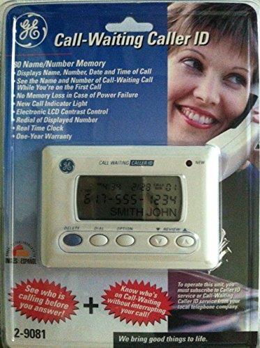GE Call-Waiting Caller ID 2-9081