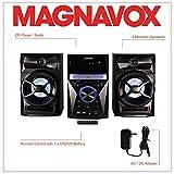 Magnavox MM441 3-Piece CD Shelf System with Digital