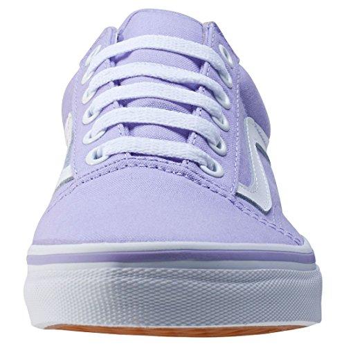 Lavender Hombre True Cuero White Zapatillas Vans de xnvBH