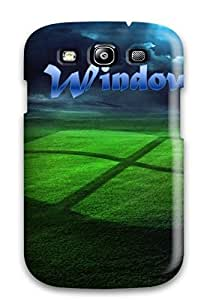For Galaxy Case, High Quality Amazing Window Xp Grass Strom For Galaxy S3 Cover Cases