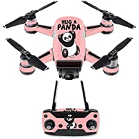 Skin for DJI Spark Mini Drone Combo - Hug A Panda| MightySkins Protective, Durable, and Unique Vinyl Decal wrap cover | Easy To Apply, Remove, and Change Styles | Made in the USA