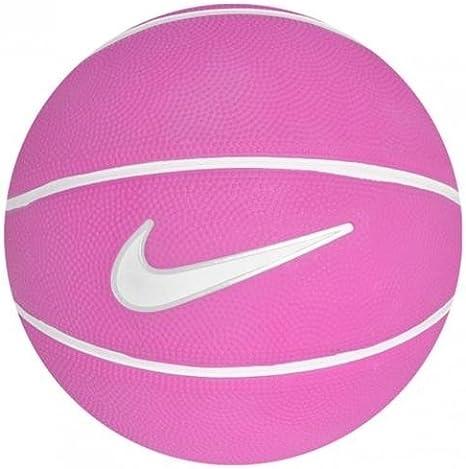 Nike Swoosh Mini - Balón de minibásquet, Color Rosa/Blanco, Talla ...