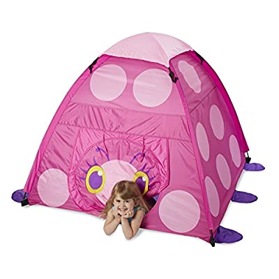 Melissa & Doug Sunny Patch Trixie Ladybug Camping Tent: Toys & Games