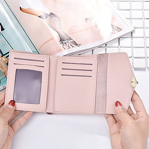Fashion Blue Bringbring Multi Card Hasp Fox Wallet Solid Coin Dark Women Bag Position 7rwAxq5t7X