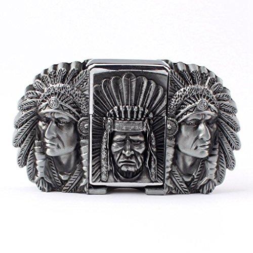 EG-08-G Vintage Golden Eagle Belt Buckle Cowboy Native American Motorcyclist