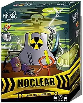 Pinbro Games Noclear - Juego de Mesa en Castellano: Amazon.es ...