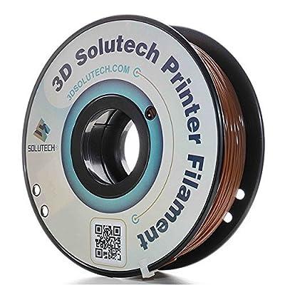 3D Solutech Chocolate Brown 1.75mm ABS 3D Printer Filament 2.2 LBS (1.0KG) - 100% USA