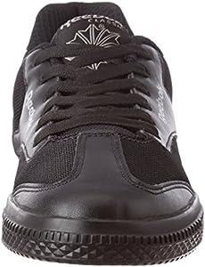 8b11e7833c9bf7 Reebok Classics Boys Class Buddy Black School Shoes (1.5 UK India ...