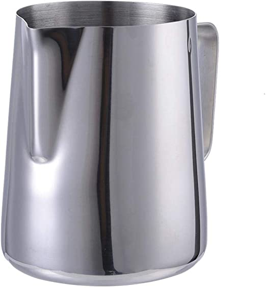 350 ML Stainless Steel Milk Coffee  Frothing Pitcher Cappuccino Espresso Cup
