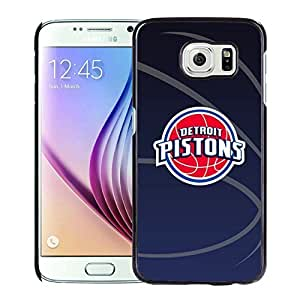 Popular And Unique Custom Designed Cover Case For Samsung Galaxy S6 With Detroit Pistons 11 Black Phone Case