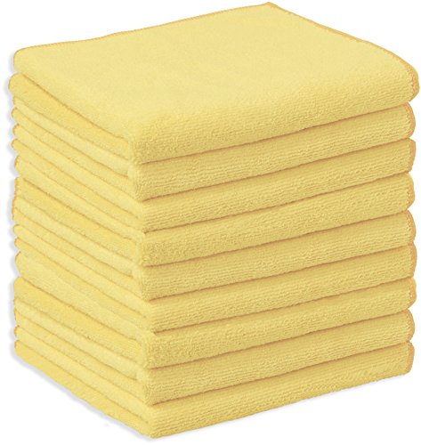 (Simple Houseware 9 Pack - Microfiber Thick Cleaning Towel Cloth, 16 x 24 Inches)