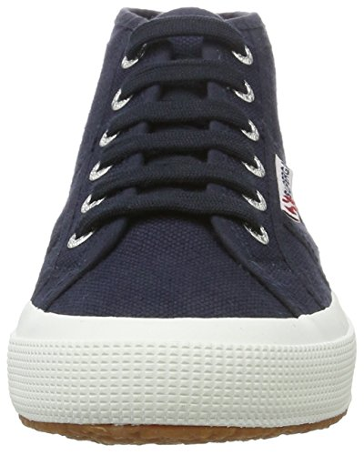 Superga 2754 Cotu, Zapatillas Altas Unisex Adulto Blau (navy-white)
